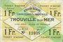 Banknotes Trouville (14). Syndicat Général des Commerçants et Industriels. Billet. 1 franc