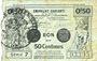 Banknotes Valenciennes (59). Emprunt Communes. Billet. 50 centimes, série 7