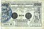 Banknotes Valenciennes (59). Emprunt Consortium. Billet. 50 centimes, série 11