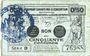Banknotes Valenciennes (59). Emprunt Consortium. Billet. 50 centimes, série 9