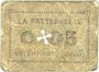 Banknotes Valentigney (25). La Fraternelle. Billet. 0,05