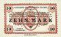 Banknotes Allemagne. Döbeln. Offiziers- Gefangenenlager. Billet. 10 mark 1.12.1917