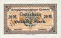Banknotes Allemagne. Lechfeld. Kriegsgefangenenlager. Billet. 20 mark 25.1.1917 annulation manuscrite Ungültig