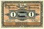 Banknotes Crossen. Inspektion der KGL im Bereich des XIII. Armeekorps. Billet. 1 pfennig 1.10.1917