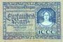 Banknotes Allemagne. Glogau (Glogow, Pologne). Stadt. Billet. 1 000 mark 19 oct 1922, série (Reihe) A