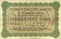 Banknotes Allemagne. Glogau (Glogow, Pologne). Stadt. Billet. 100 mark 22 sept 1922, série (Reihe) C