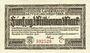 Banknotes Allemagne. Hessische Landesbank. Darmstadt 1923. Billet. 50 millions mark, série C, 1.9.1923