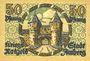 Banknotes Amberg. Stadt. Billet. 50 pfennig 1919