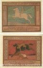 Banknotes Ansbach. Stadt. Billet. 25 pf, 50 pf  1.11.1918