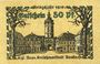 Banknotes Ansbach. Stadt. Billet. 50 pf  1918