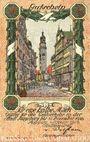 Banknotes Augsburg. Stadt. Billet. 50 pfennig du 1.1.1918