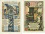 Banknotes Beckum. Stadt. Billets. 50 pf 1.11.1918 ; 25 pf 1.11.1920