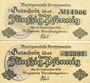 Banknotes Berchtesgaden. Marktgemeinde. Billets. 50 pfennig (2ex), 2 variantes de revers