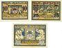 Banknotes Berka. Bad. Stadt. Billets. 10 pf, 25 pf, 50 pf 20.8.1920