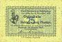 Banknotes Berneck im Fichtelgebirge. Stadt. Billet. 25 pf janvier 1917