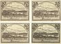 Banknotes Beuthen a. Oder (Bytom Odrzanskie, Pologne). Stadt. Billets. 10, 25, 50 (2ex) pf n.d.