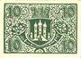 Banknotes Bischofscheim v. Rhön. Stadt. Billet. 10 pfennig (1921)