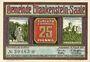 Banknotes Blankenstein a. d. Saale. Gemeinde. Billet. 25 pfennig n. d.