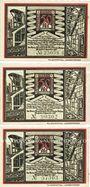 Banknotes Bochum. Landkreis. Billets. 50 pf (2ex), 75 pf 1.11.1921