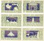 Banknotes Brande-Hörnerkirchen. Gemeinde. Billets. 20, 30 p, 40, 60, 70, 80 pf (1921) - 31.1.1922