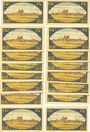 Banknotes Brehna. Stadt. Billets. 25 pfennig (16 ex) juillet 1921