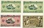 Banknotes Breisach. Stadt. Billets. 50 pf 1.8.1919; 1.6.1920; 10.2.1921; 1.6.1921