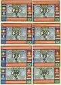 Banknotes Bremen. Deutsche America-Woche. Billets. 25 pf (2ex) 50 pf (2ex) 75 pf (2ex) 100 pf (2ex)