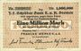 Banknotes Bremen. Franke Werke K. a. A., Billet. 1 million de mark 29.8.1923