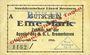Banknotes Bremerhaven. Norddeutscher Lloyd Bremen. Billet. 1 mark 1914, annulation par cachet