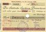 Banknotes Bremerhaven. Stadt. Billet. 20 mark 31.10.1918, annulation par perforation