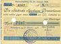 Banknotes Bremerhaven. Stadt. Billet. 5 mark 31.10.1918, annulation par perforation
