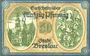 Banknotes Breslau (Wroclaw, Pologne). Stadt. Billet. 50 pf 11.5.1920