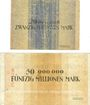 Banknotes Breslau (Wroclaw, Pologne). Stadt. Billets. 20, 50 millions de mark sept 1923