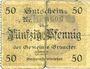 Banknotes Broacker (Danemark, Broager). Gemeinde. Billet. 4 pf (1917)