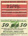 Banknotes Brockau (Brochow, Pologne). Gemeinde. Billets. 25 pf, 50 pf 22.10.1920