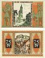 Banknotes Brunswick. Braunschweigische Staatbank. 75 pfennig (2ex) 1.5.1921