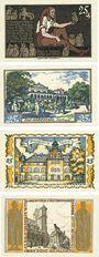Banknotes Brunswick. Braunschweigische Staatbank. Série de 4 billets. 25 pfennig du 1.5.1921