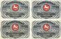 Banknotes Brunswick. Braunschweigische Staatbank. Série de 4 billets. 50 pfennig du 1.5.1921