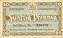 Banknotes Brunswick Herzoglich Braunschweigische-Lüneburgisches Finanzkollegium. Billet. 50 pf (1917)