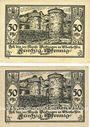 Banknotes Büdingen. Kreise. Billets. 50 pf (2ex) 1.11.1918