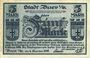 Banknotes Buer. Stadt. Billet. 5 mark 4.11.1918 - 1.2.1919
