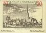 Banknotes Calcar. Stadt. Billet. 50 pf 1922