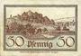 Banknotes Cannstadt. Amtskörperschaft. Billet. 50 pfennig 15.6.1918