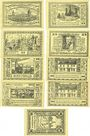 Banknotes Canth (Katy Wroclawskie Pologne). Stadt. Billets. 25 pf (4ex), 50 pf (5ex) (1922)