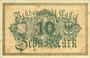 Banknotes Cassel. Stadt. Billet. 10 mark n. d. - 31.1.1919, série C