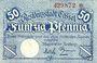 Banknotes Cassel. Stadt. Billet. 50 pfennig (1918)