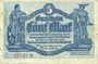 Banknotes Chemnitz. Finanzvereinigung Chemnitzer Industrieller. Billet. 5 mark 16.11.1918