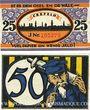 Banknotes Crefeld. Stadt. Billets. 25 pf, 50 pf 24.2.1921