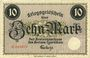 Banknotes Czarnikau (Czarnikov, Pologne). Kreis. Billet. 10 mark n. d.