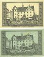 Banknotes Darmstadt. Stadt. Billets. 5 pf, 10 pf 15.12.1920
